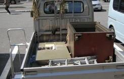 金庫の搬出・処分